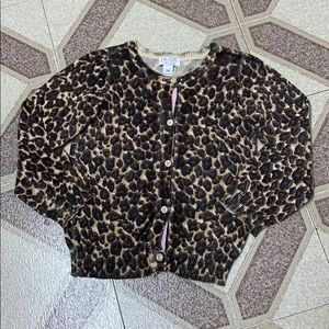 (3 for 20$) 3Y Leopard Print Cardigan for 3Y